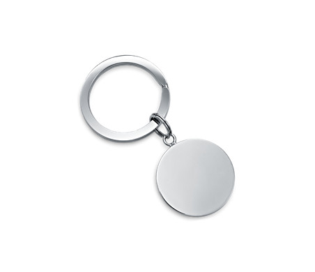 Blue Nile Valet Key Ring in Sterling Silver