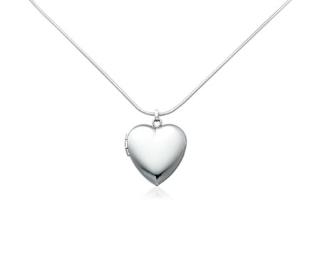 Blue Nile Engravable Sweetheart Locket in Sterling Silver mThkx1ORH