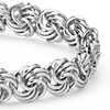 Rosetta Linked Bracelet in Sterling Silver