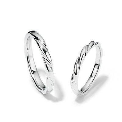 Swirl Set in Platinum