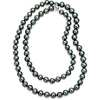 Collier de perles de culture de Tahiti with Or blanc 14 carats (36