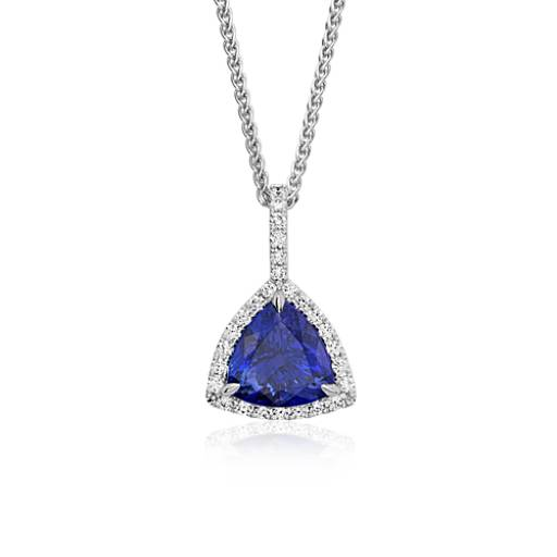 Tanzanite necklaces tanzanite pendants blue nile pendant extraordinary collection aloadofball Images