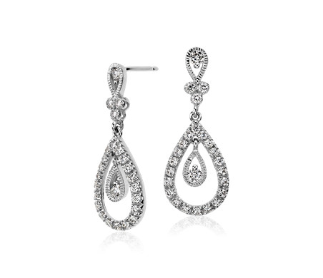 diamond jewelry with dangle grande dangles helen ficalora disk earrings products
