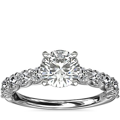 Tessere Diamond Engagement Ring in Platinum (5/8 ct. tw.)
