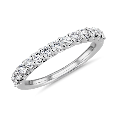 NEW Tessere Weave Diamond Anniversary Ring in 18k White Gold (1/2 ct. tw.)