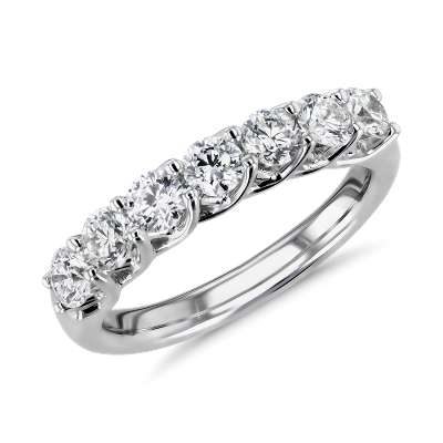NEW Tessere Weave Diamond Anniversary Ring in 18k White Gold (1 ct. tw.)