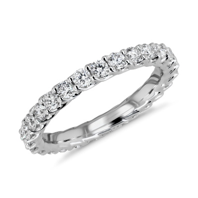 NEW Tessere Weave Diamond Eternity Ring in 18k White Gold (1 ct. tw.)
