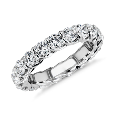 NEW Tessere Weave Diamond Eternity Ring in 18k White Gold (3 ct. tw.)