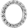 Tessere Weave Diamond Eternity Ring in 18k White Gold (2.95 ct. tw.)