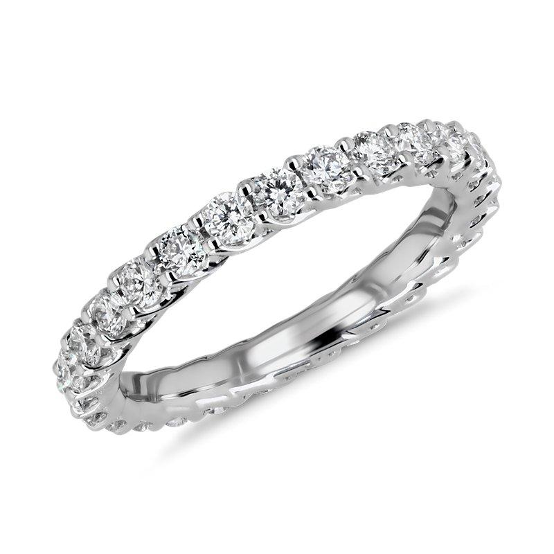 Tessere Weave Diamond Eternity Ring in Platinum (1 ct. tw.)