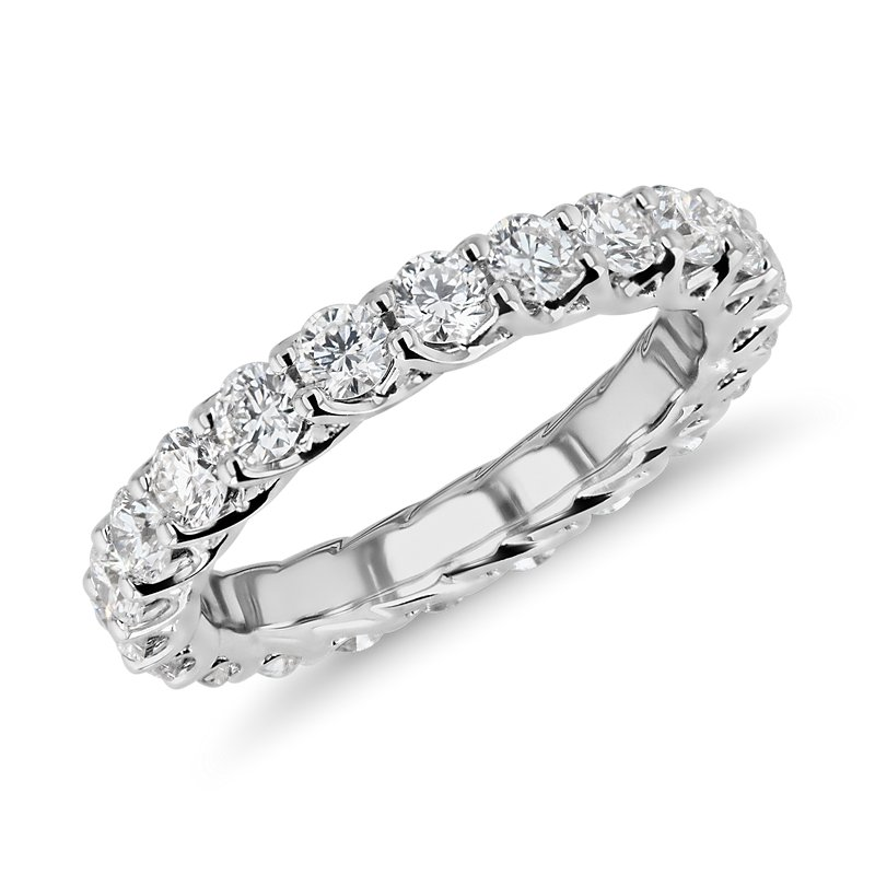 Tessere Weave Diamond Eternity Ring in Platinum (2 ct. tw.)