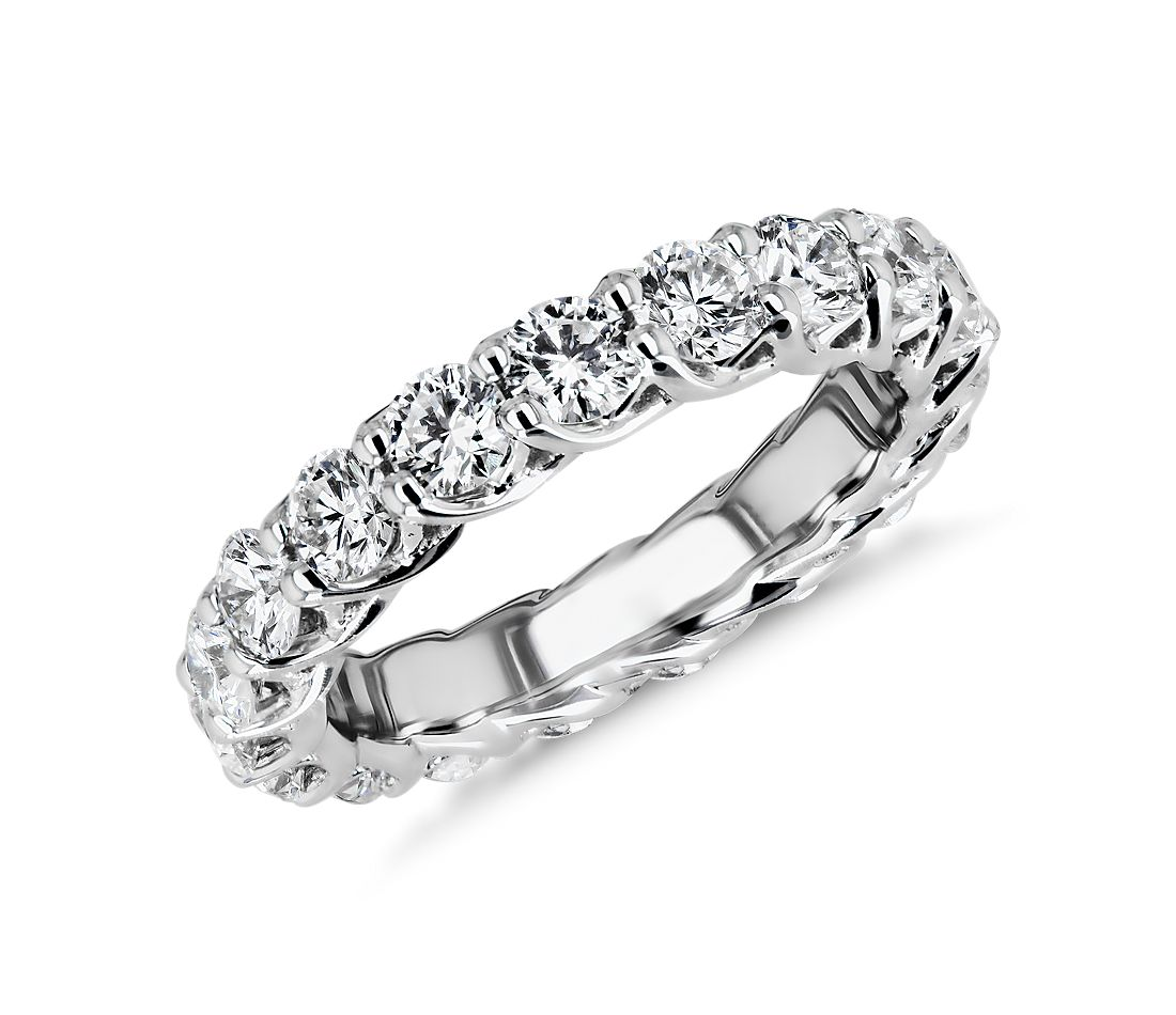 Tessere Weave Diamond Eternity Ring in Platinum (3 ct. tw.)