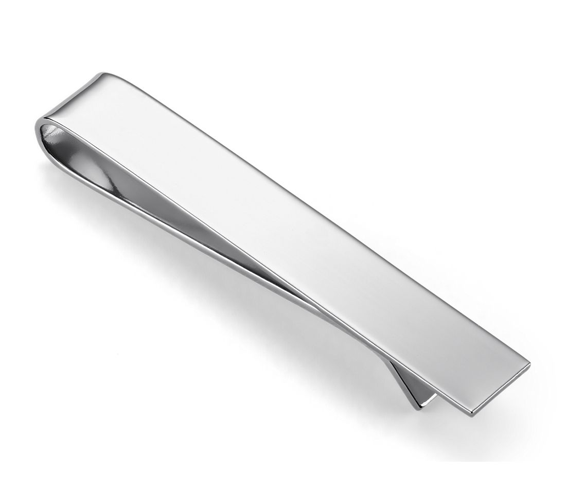 Tie Clip in Stainless Steel