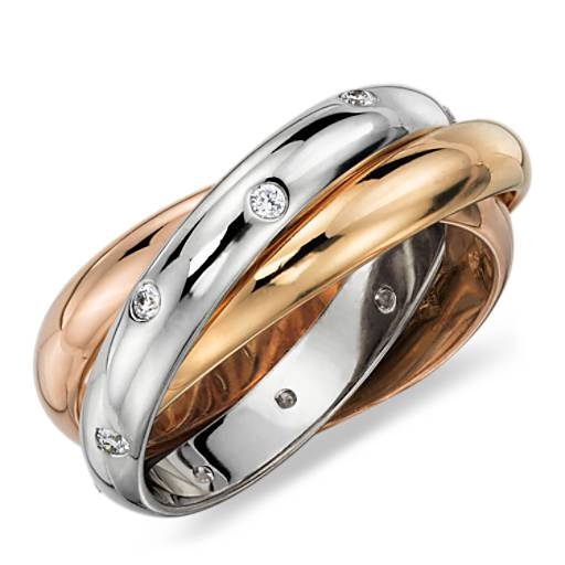 Rolling Ring Diamond Eternity