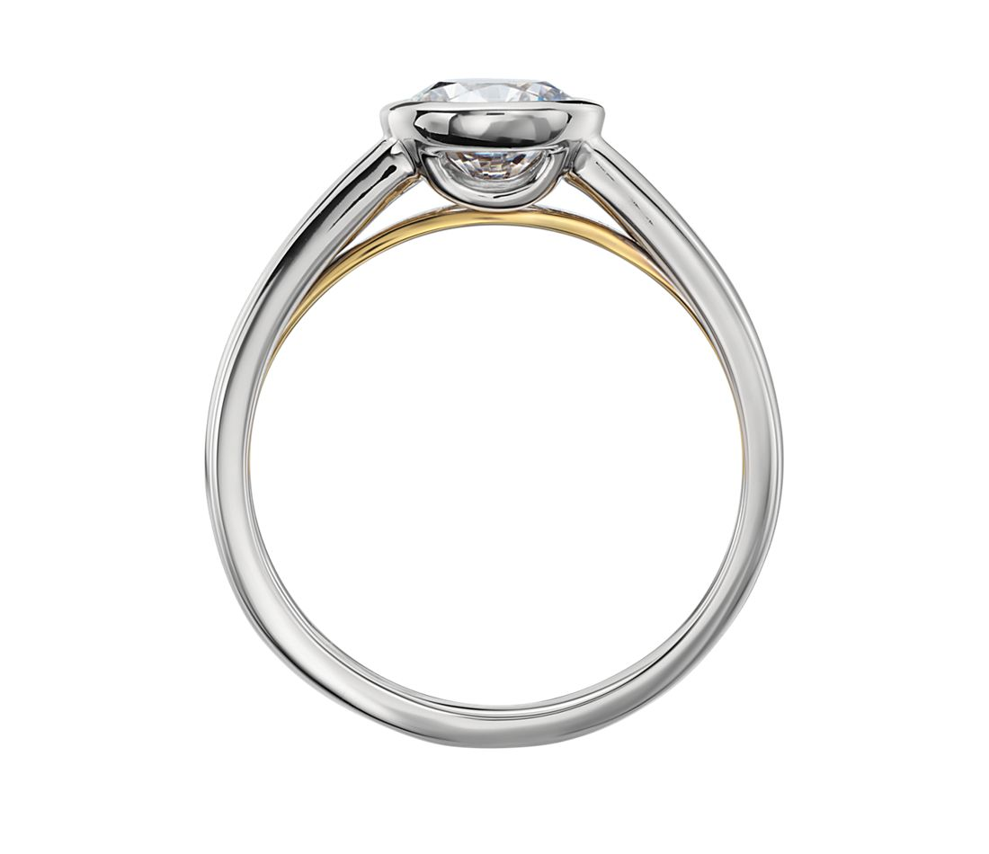 ZAC Zac Posen Bezel-Set Solitaire Engagement Ring in