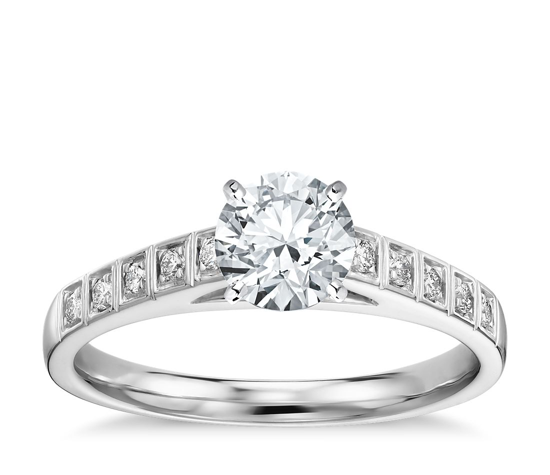 Engagement Rings Zac Posen: Truly Zac Posen Cathedral Pavé Diamond Engagement Ring In