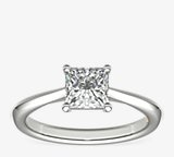 ZAC Zac Posen Knife-Edge Solitaire Engagement Ring