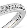 Truly Zac Posen Pavé Diamond Ring in Platinum and 18k Yellow Gold