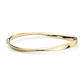 Twist Bangle in 14k Yellow Gold