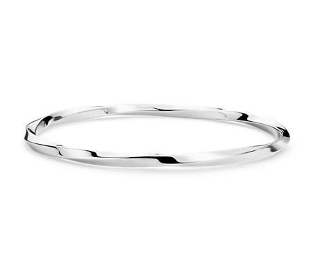 by modern silver sterling bangle bangles thick pin bracelet hand forged craftysou