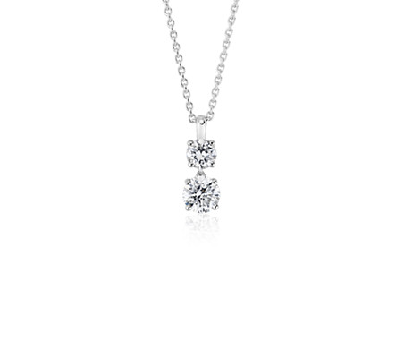 gold white in w diamond journey pendant v p ct t tw online