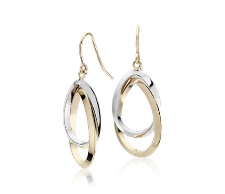 Blue Nile Teardrop Dangle Earrings in 14k Yellow Gold 8QHseW9