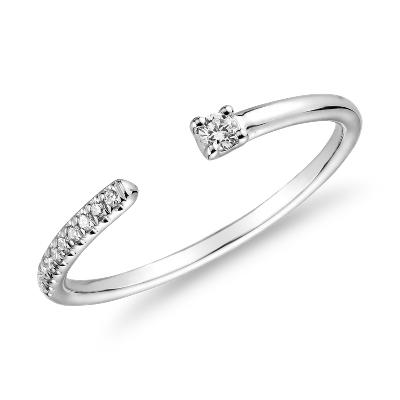bague or petit diamant