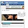 Brazalete ancho ondulado en NBC New York Style Show