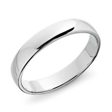 Blue Nile Favorite. Classic Wedding Ring In Platinum ...