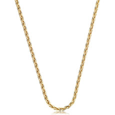 Wheat Chain in 14k Yellow Gold (1.2mm)