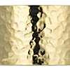 14k 義大利黃金捶打紋路鉸鏈圈寬版開口手環27毫米