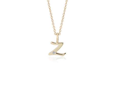 Blue nile o mini initial diamond pendant in 14k yellow gold blue nile o mini initial diamond pendant in 14k yellow gold bsjohlx0u aloadofball