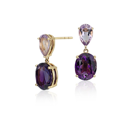 france rhodolite garnet silver platinum earrings de cttw dp rose amethyst plated