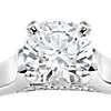1 Carat Preset Truly Zac Posen Cathedral Solitaire Plus Diamond Engagement Ring in Platinum