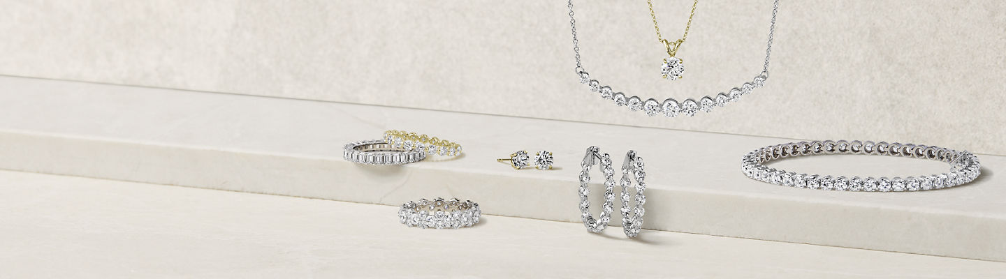 An assortment of fine and diamond jewelry.