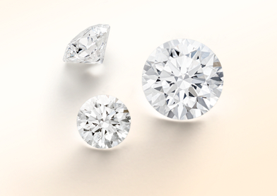 Three loose diamonds
