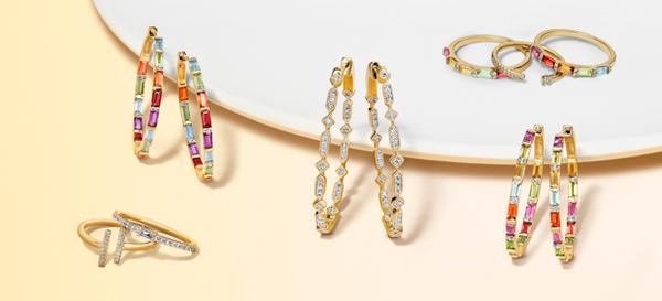 钻石系列,以及钻石和蓝宝石珠宝系列。