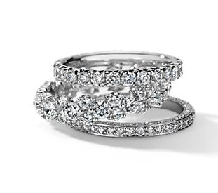 wedding rings - Wedding Band And Engagement Ring