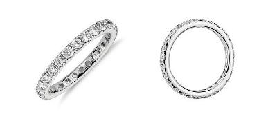 Riviera Diamond Eternity Ring in 14k White Gold (1 ct. tw.)