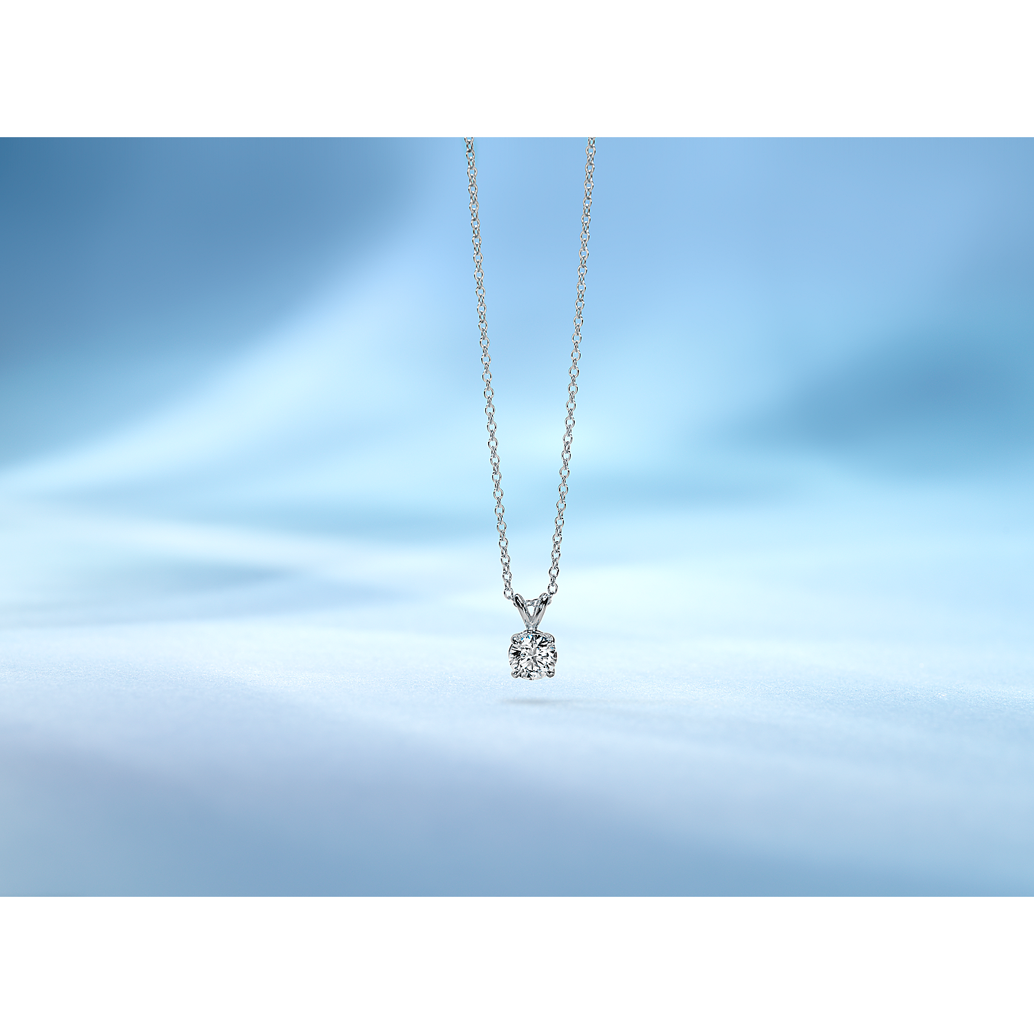 Diamond Solitaire Pendants