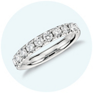 A diamond band