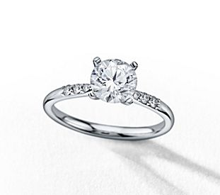 preset engagement rings - Blue Wedding Ring