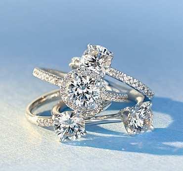 preset engagement rings - Blue Wedding Ring