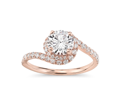 Monique Lhuillier Engagement Ring
