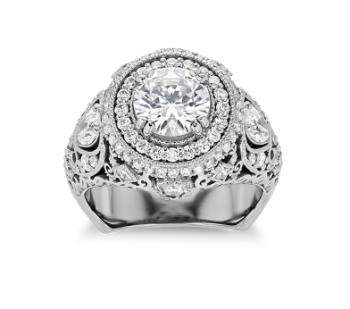 Bella Vaughan diamond engagement ring.