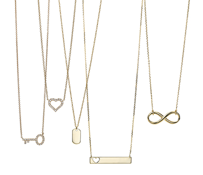 How To Layer Necklaces 7 Tips For Mastering The Look Blue Nile