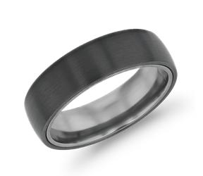 Alianza de bodas de titanio para hombre