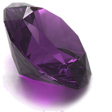 Round Amethyst Gemstone