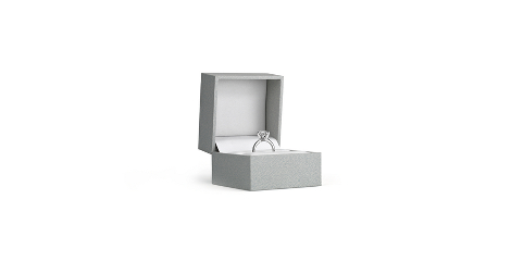Diamond Ring Box