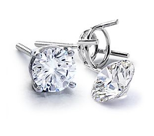 Diamond Earrings - Choose From Hoops, Studs & Drops | Blue Nile